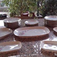 Antigüedades: ANTIGUA VAJILLA SELLADA SANTA CLARA , PRECIOSA. Lote 66269858
