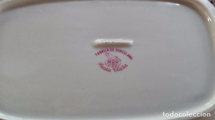 Antigüedades: antigua vajilla sellada santa clara , preciosa - Foto 4 - 66269858