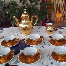 Antigüedades: PRECIOSO JUEGO DE CAFE BAVARIA. Lote 66270386