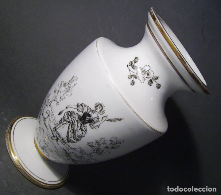 Antigüedades: JARRÓN DE OPALINA BLANCA - Foto 4 - 66302530