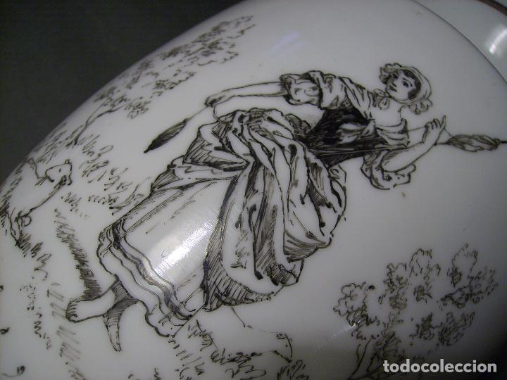 Antigüedades: JARRÓN DE OPALINA BLANCA - Foto 9 - 66302530