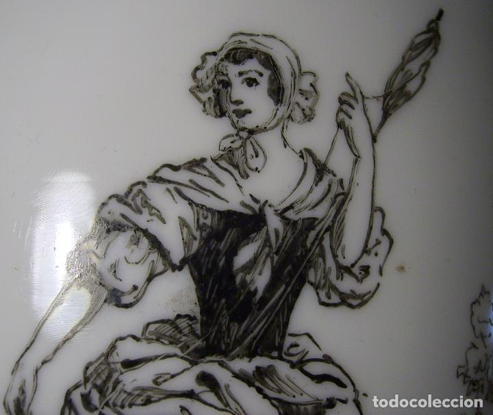 Antigüedades: JARRÓN DE OPALINA BLANCA - Foto 12 - 66302530