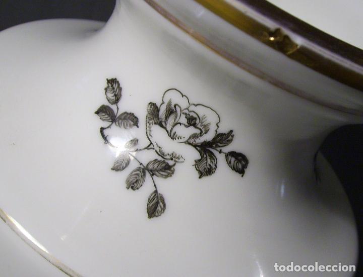 Antigüedades: JARRÓN DE OPALINA BLANCA - Foto 15 - 66302530