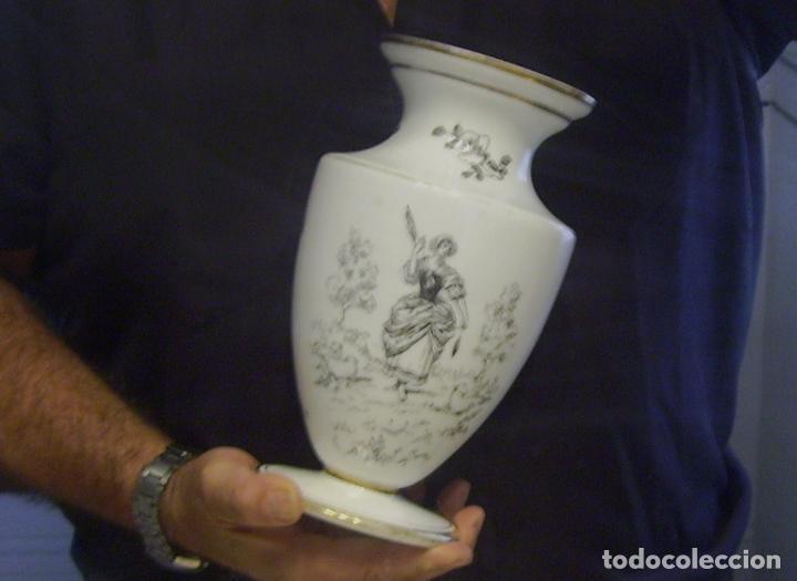Antigüedades: JARRÓN DE OPALINA BLANCA - Foto 17 - 66302530