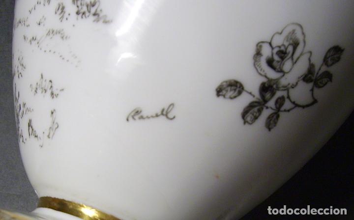 Antigüedades: JARRÓN DE OPALINA BLANCA - Foto 20 - 66302530