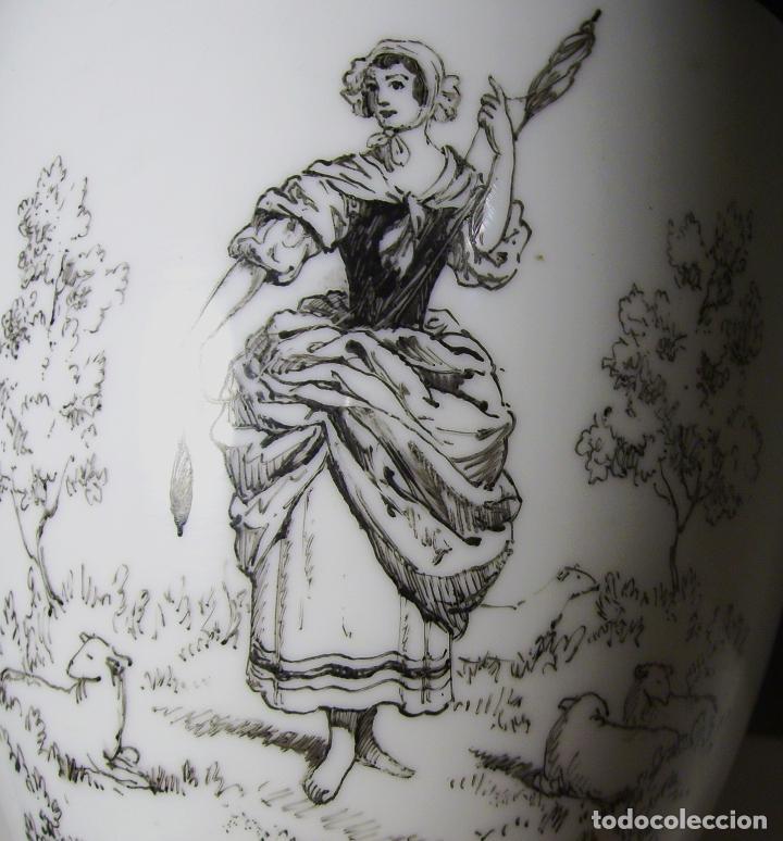 Antigüedades: JARRÓN DE OPALINA BLANCA - Foto 21 - 66302530