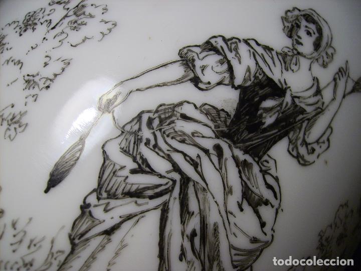 Antigüedades: JARRÓN DE OPALINA BLANCA - Foto 23 - 66302530