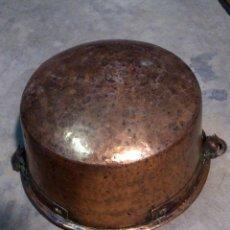 Antigüedades: CALDERO DE COBRE ENVÍO NACIONAL INCLUIDO. Lote 66311098