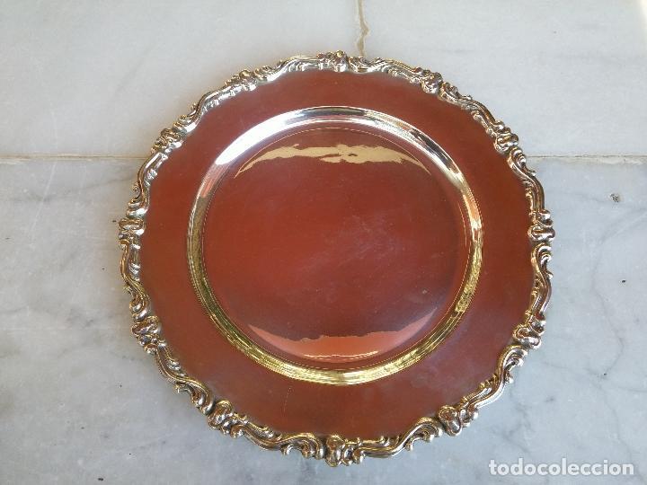 ANTIGUO PLATO DE PLATA PERUANA DEL SIGLO XIX (Antigüedades - Platería - Plata de Ley Antigua)