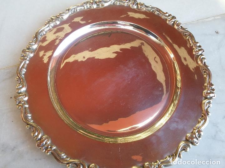 Antigüedades: Antiguo plato de plata Peruana del Siglo XIX - Foto 3 - 66434130
