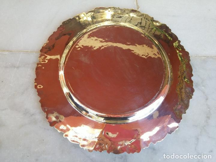 Antigüedades: Antiguo plato de plata Peruana del Siglo XIX - Foto 4 - 66434130