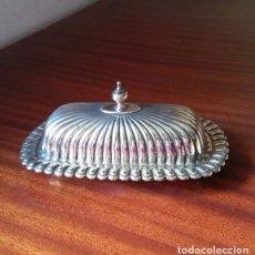 Antigüedades: ANTIGUO RECIPIENTE BAÑO DE PLATA.. Lote 66473302