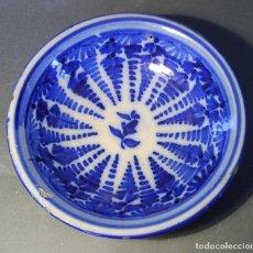 Antigüedades: PLATO CERÁMICA DE TALAVERA XVIII - XIX . Lote 66746506