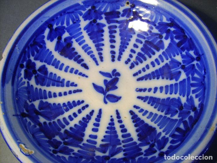 Antigüedades: PLATO CERÁMICA DE TALAVERA XVIII - XIX - Foto 8 - 66746506
