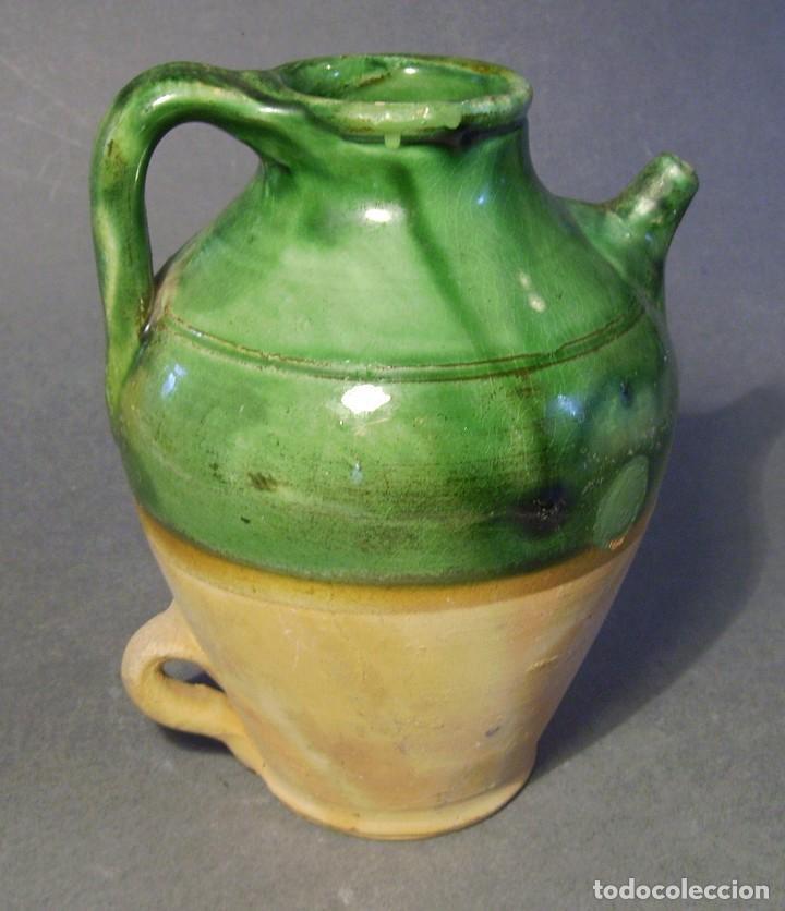 BOTIJO ( POAL ) DE TERRISSA CATALANA XX (Antigüedades - Porcelanas y Cerámicas - Catalana)