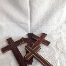 Antigüedades - Lote cruces palo santo - 66742746