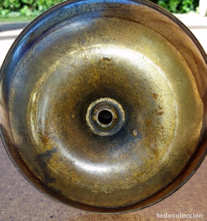 Antigüedades: CANDELABRO CANDELERO DE BRONCE - Foto 4 - 66789106
