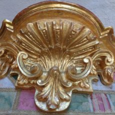 Antigüedades: MENSULA DORADA S.XVII. Lote 66793270