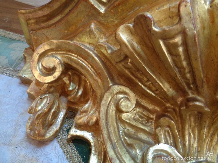 Antigüedades: MENSULA DORADA S.XVII - Foto 3 - 66793270