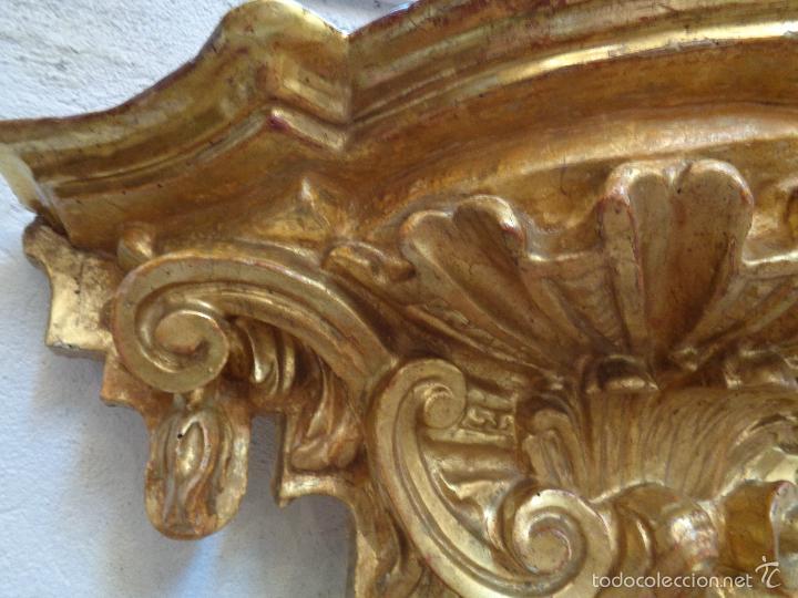 Antigüedades: MENSULA DORADA S.XVII - Foto 15 - 66793270
