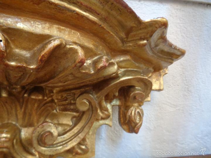 Antigüedades: MENSULA DORADA S.XVII - Foto 19 - 66793270