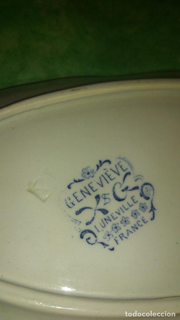 Antigüedades: Antigua vajilla k&g luneville france,genevieve.incompleta,siglo xix - Foto 11 - 66799630