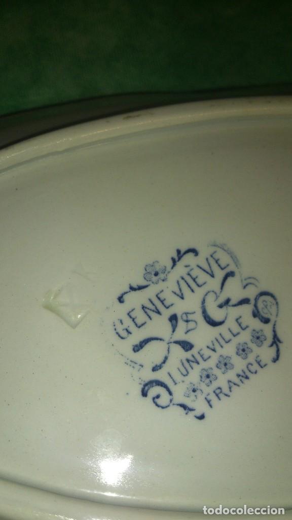 Antigüedades: Antigua vajilla k&g luneville france,genevieve.incompleta,siglo xix - Foto 12 - 66799630