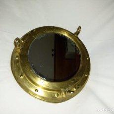 Antigüedades: ESPEJO-DE LATÓN Y/O BRONCE O AMBAS. Lote 66808354