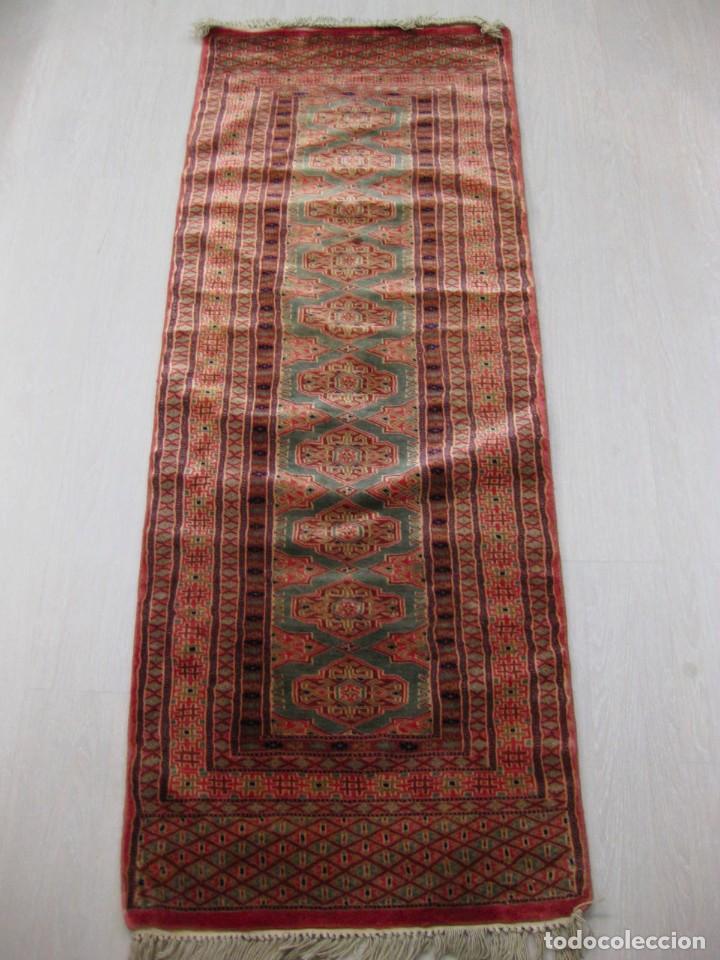 Antigüedades: Alfombra pakistan extra 169 x 063 - Foto 3 - 66828598