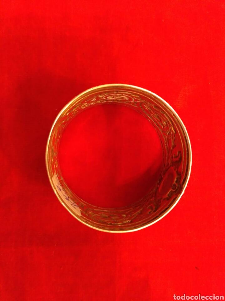 Antigüedades: Anillo de servilleta plateado - Foto 5 - 66866973