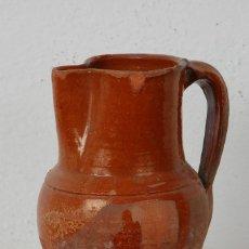 Antigüedades: JARRA VINO, TERRACOTA ESMALTADA. Lote 66895658