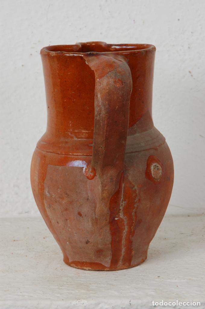 Antigüedades: JARRA VINO, TERRACOTA ESMALTADA - Foto 2 - 66895658