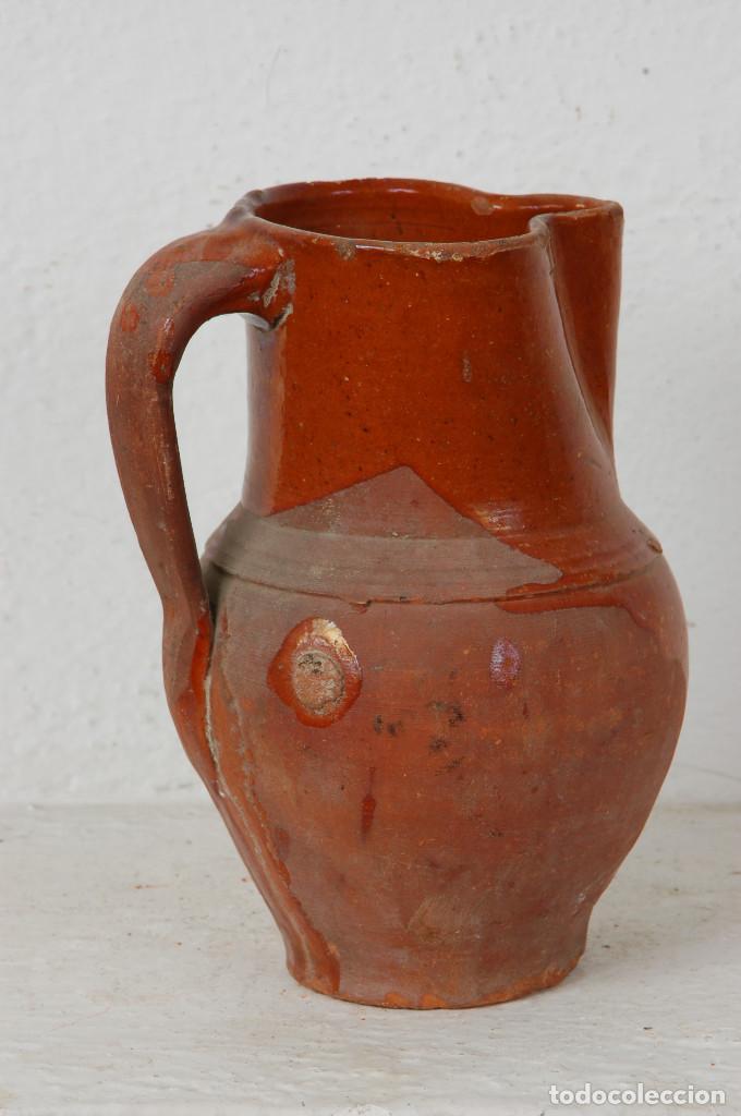 Antigüedades: JARRA VINO, TERRACOTA ESMALTADA - Foto 3 - 66895658