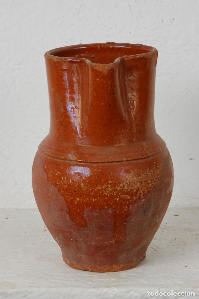 Antigüedades: JARRA VINO, TERRACOTA ESMALTADA - Foto 4 - 66895658