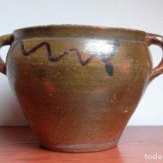 Antigüedades: C096.- OLLA - ORZA - CAZUELA DE NAVAL. Lote 66944234