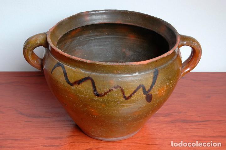 Antigüedades: C096.- OLLA - ORZA - CAZUELA DE NAVAL - Foto 2 - 66944234