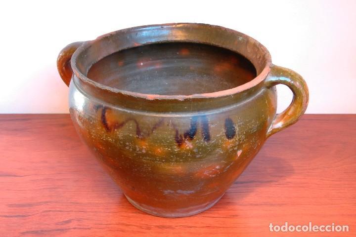Antigüedades: C096.- OLLA - ORZA - CAZUELA DE NAVAL - Foto 3 - 66944234