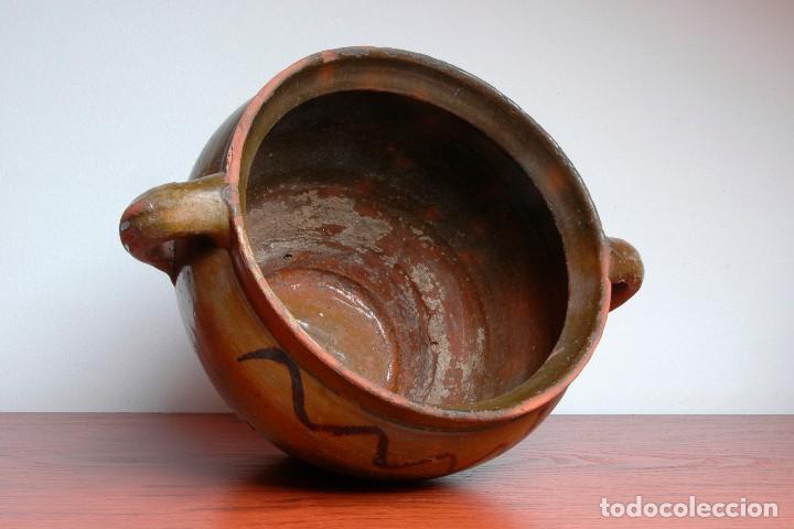 Antigüedades: C096.- OLLA - ORZA - CAZUELA DE NAVAL - Foto 4 - 66944234