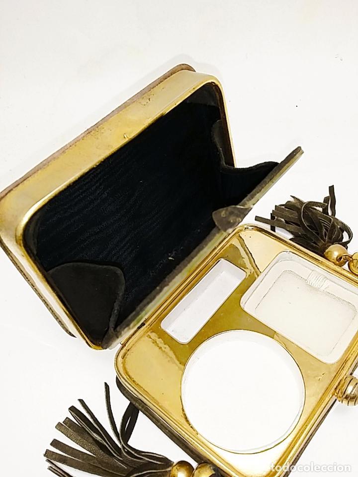 Antigüedades: Bolsito monedero/polvera años 30/40 - Foto 5 - 66949454