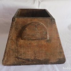 Antigüedades: MEDIDA DE GRANO ARAGONESA CUARTAL. Lote 66975862