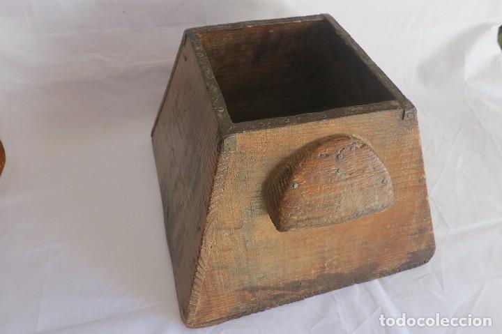 Antigüedades: medida de grano Aragonesa Cuartal - Foto 2 - 66975862