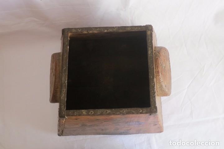 Antigüedades: medida de grano Aragonesa Cuartal - Foto 3 - 66975862