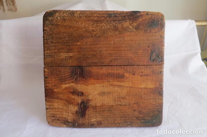 Antigüedades: medida de grano Aragonesa Cuartal - Foto 4 - 66975862