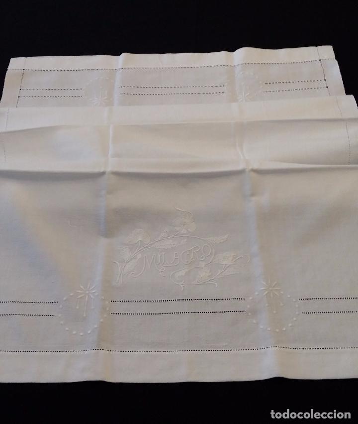 Antigüedades: Antigua toalla modernista - Foto 2 - 66990634