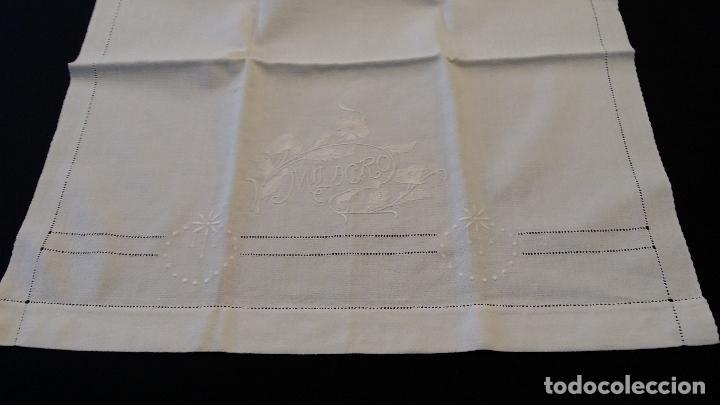 Antigüedades: Antigua toalla modernista - Foto 3 - 66990634