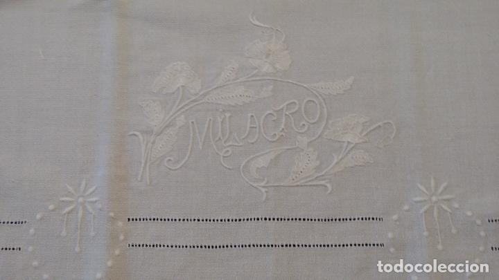 Antigüedades: Antigua toalla modernista - Foto 4 - 66990634