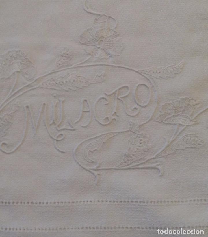 Antigüedades: Antigua toalla modernista - Foto 5 - 66990634