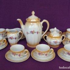 Antigüedades: SANTA CLARA JUEGO DE CAFE . Lote 98166146