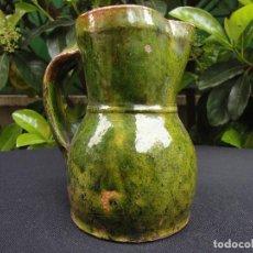Antigüedades: ALFARERÍA CASTELLANA: JARRA DE PEÑAFIEL. Lote 67023966