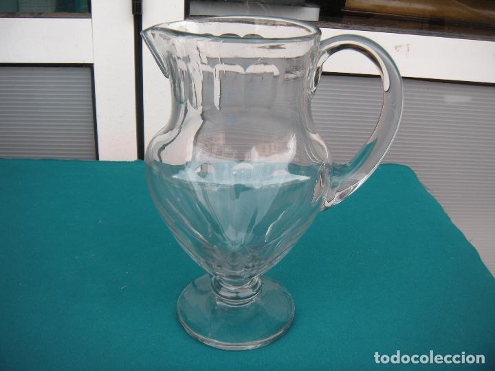 JARRA DE CRISTAL FACETADA (Antigüedades - Cristal y Vidrio - Santa Lucía de Cartagena)